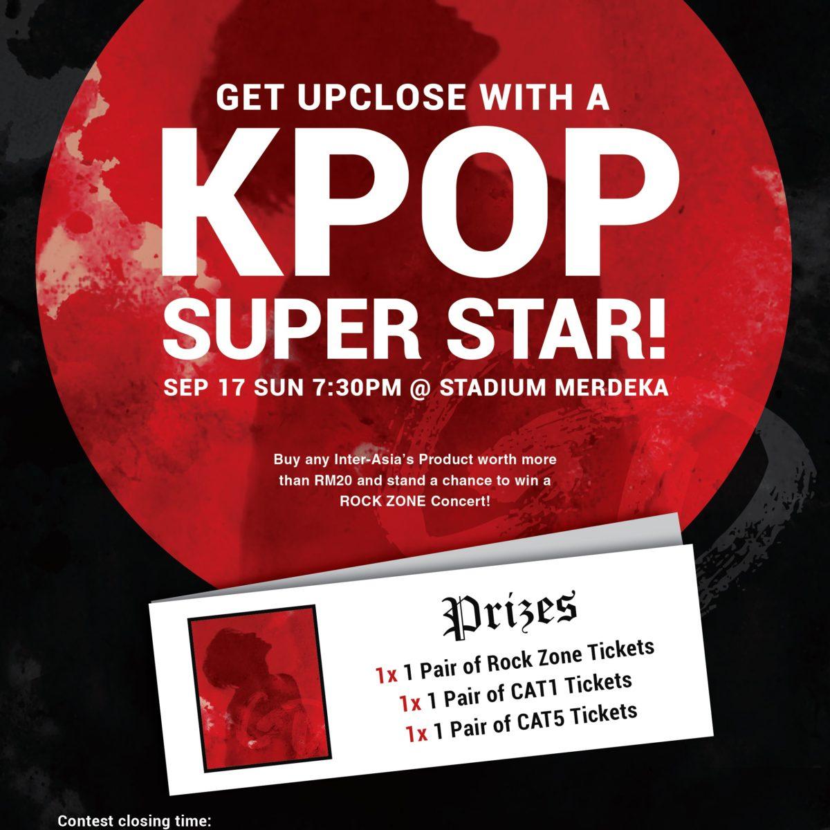 GET UP CLOSE WITH A KOREAN SUPER STAR!