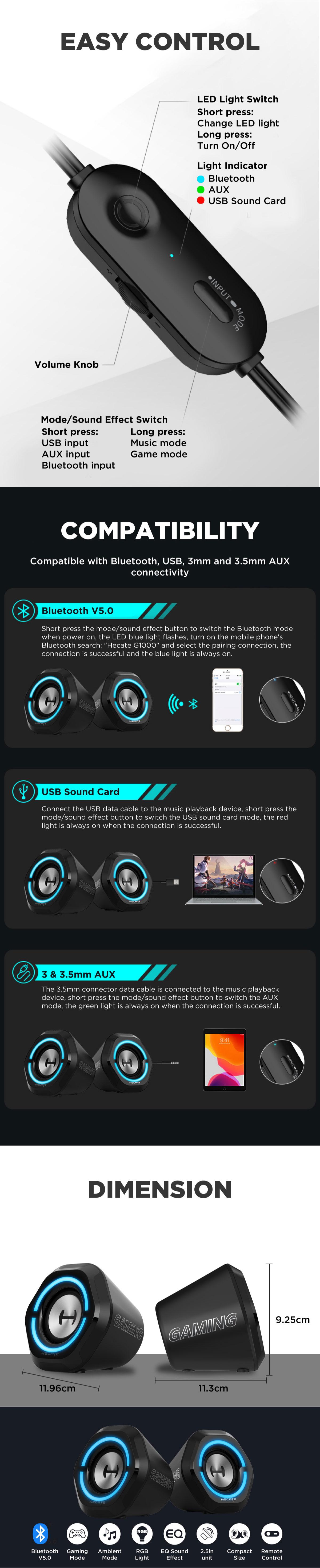 Edifier G1000 Gaming Speaker