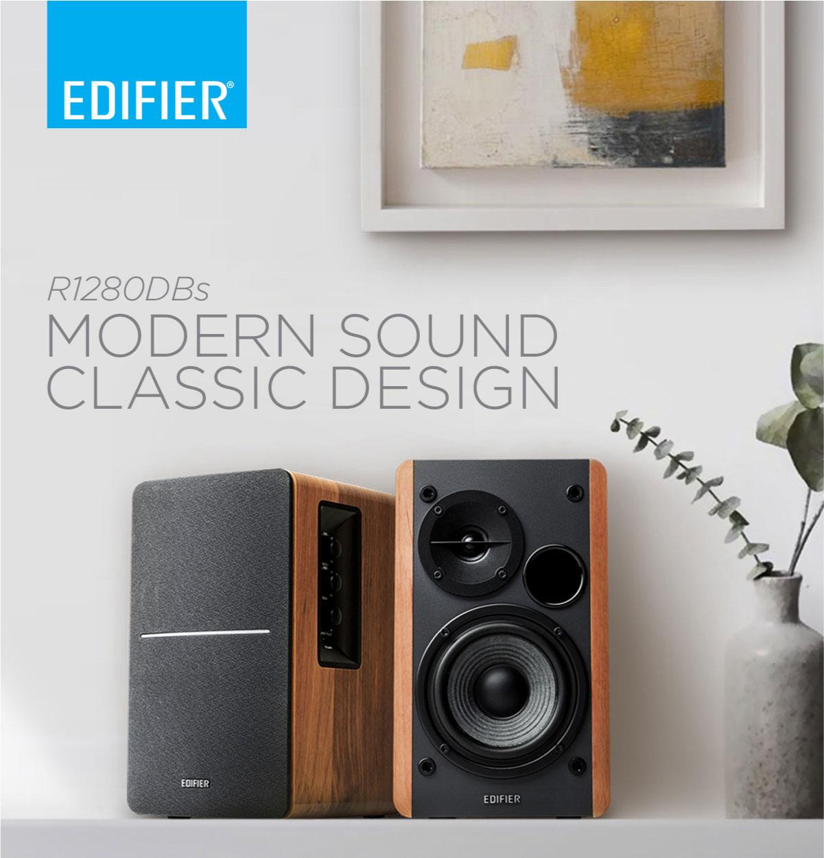 Edifier R1280DBS Bookshelf Speaker
