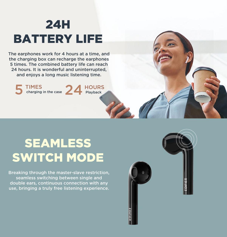 Edifier TWS600 Edicall Earbud