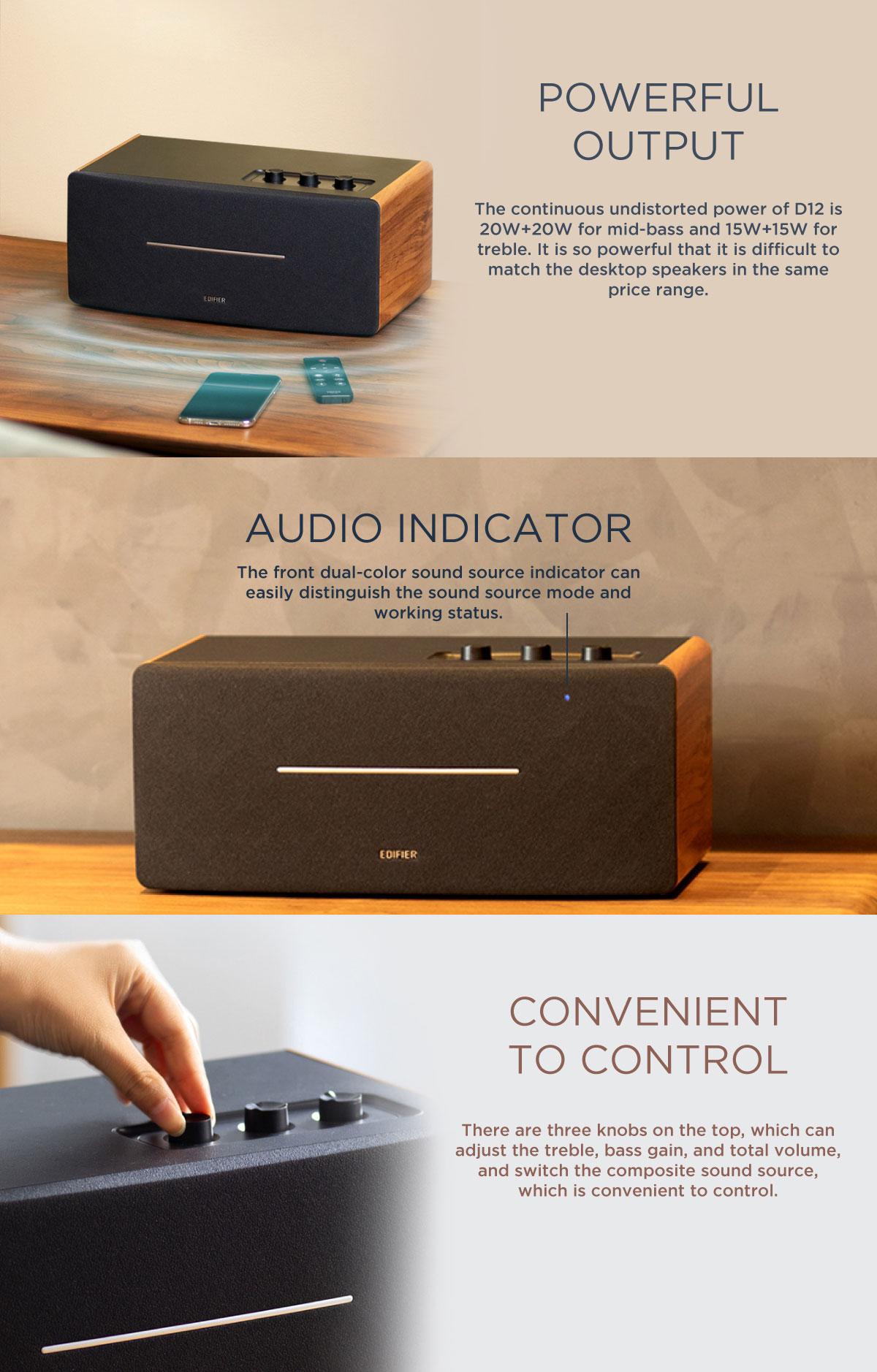 edifier d12 speaker