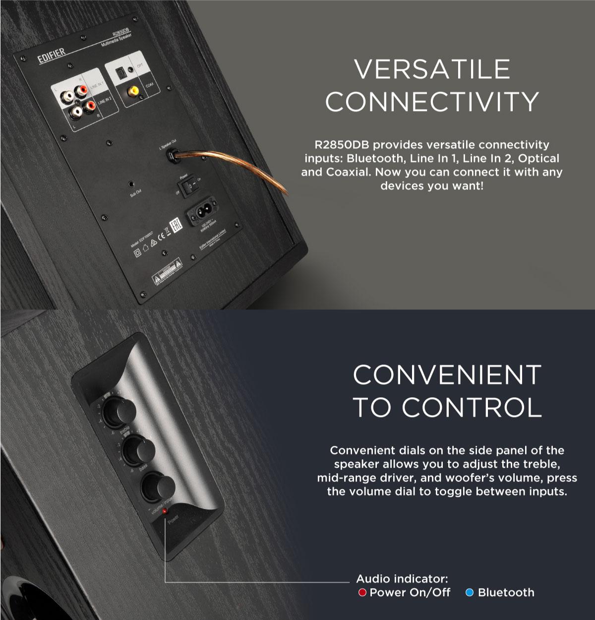 Edifier R2850DB Tri-amp Speaker