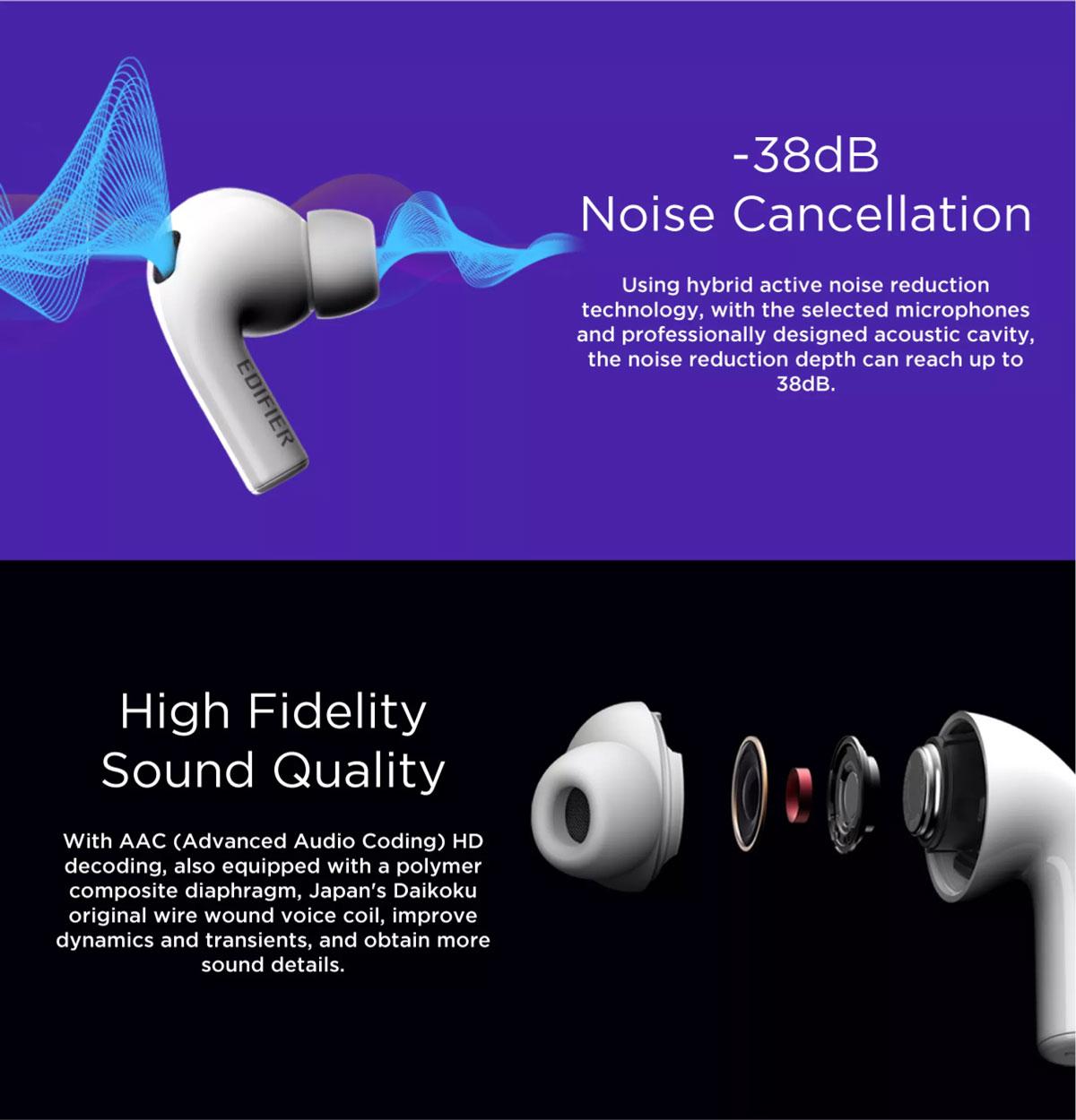 Edifier TWS300NB Bluetooth Earbuds