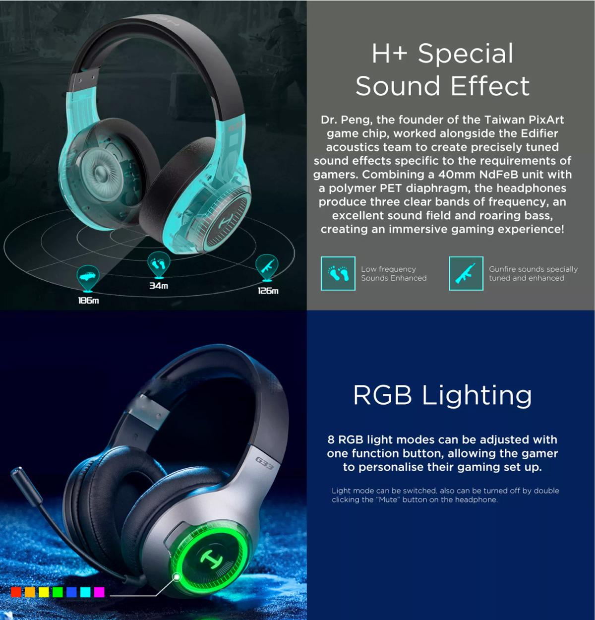 Edifier G33BT Bluetooth Gaming