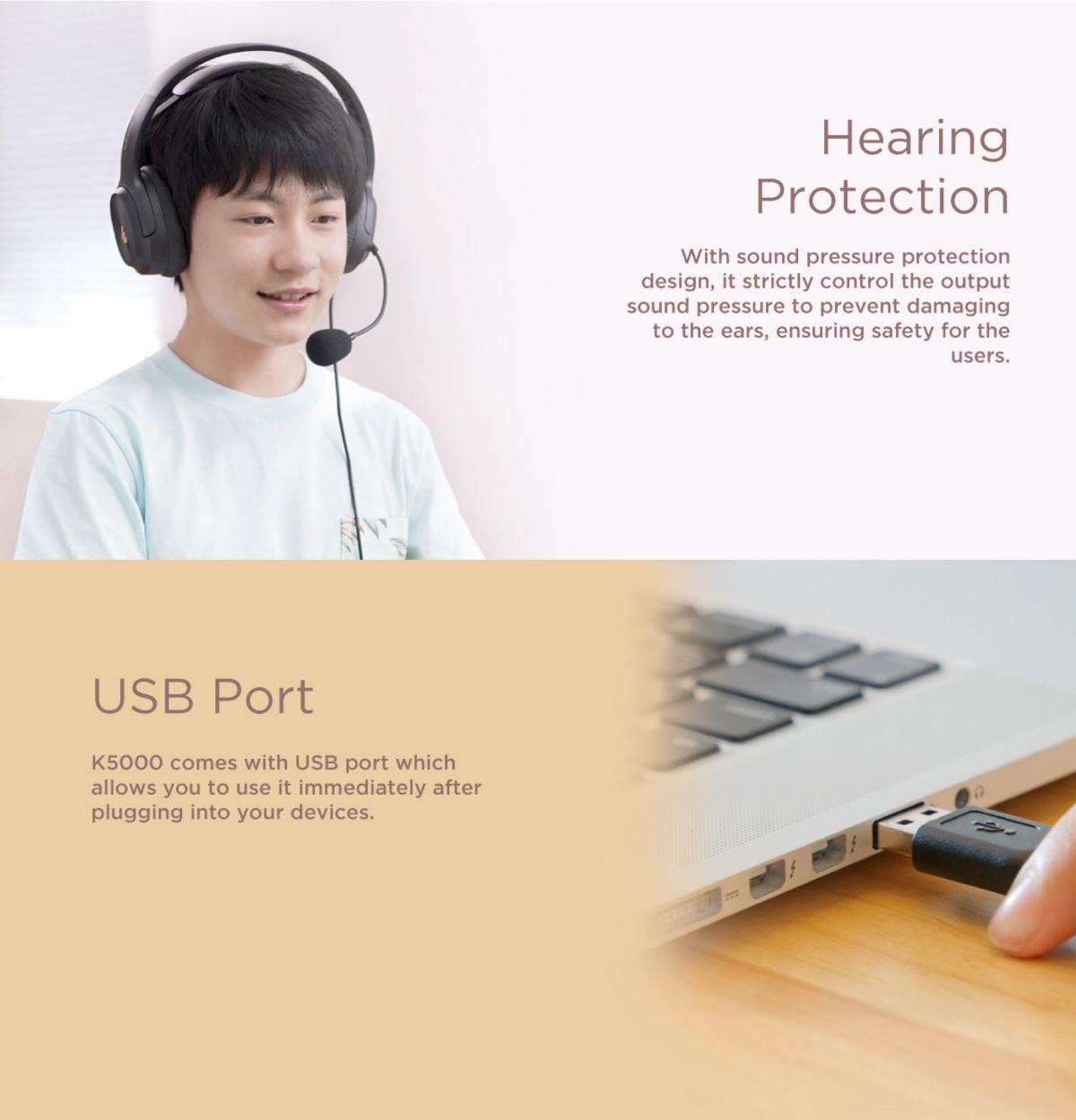 Edifier K5000 USB Headphone
