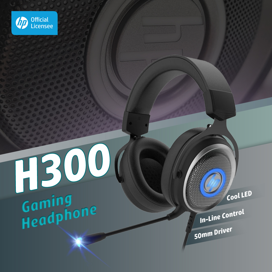 HP H300 USB Headphone