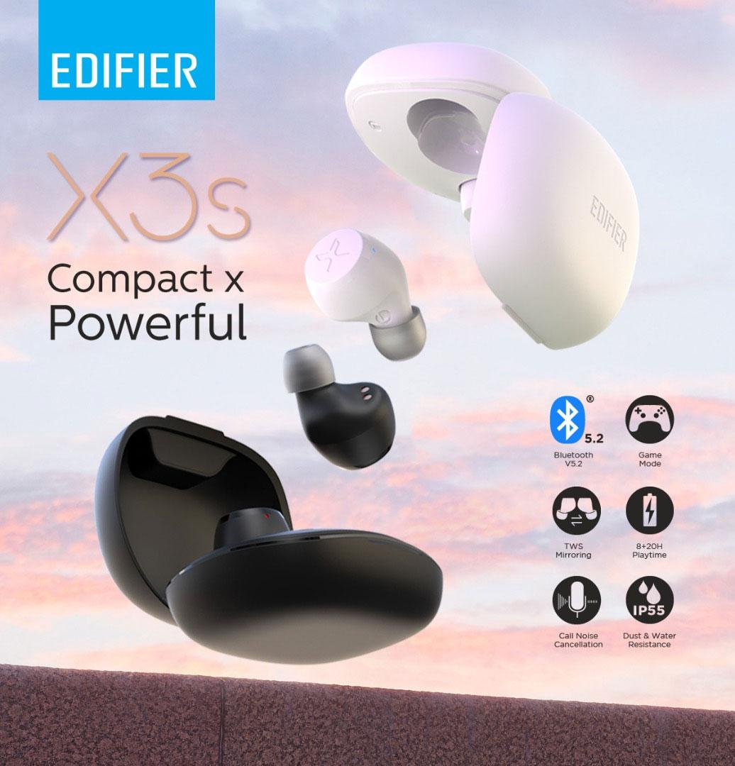 edifier x3s true wireless